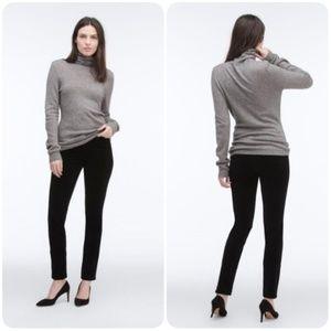 The Stilt Skinny Cigarette Corduroy Black AG Pants